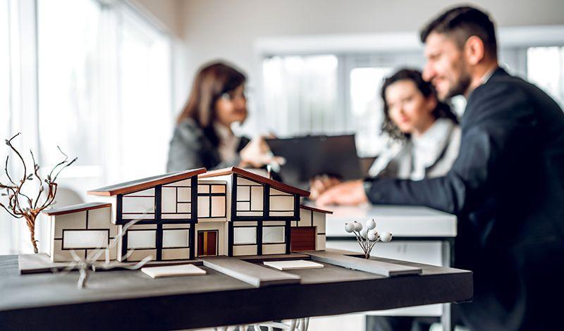 Haus Immobilienmakler